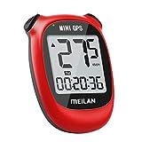 MEILAN M3 Mini GPS Fahrradcomputer, Drahtlos Wasserdicht Fahrradtacho Kabellos Fahrrad Tachometer Geschwindigkeit mit LCD Bildschirm für Kinder Erwachsene