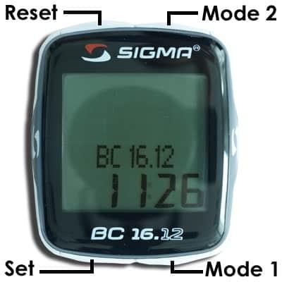 Funktionstasten Sigma BC 16.12