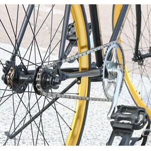 Fahrradkette und wie man sie reinigt