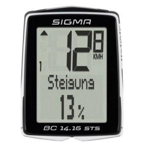 Sigma BC 14.16 Sts Fahrradcomputer, Schwarz, One size3