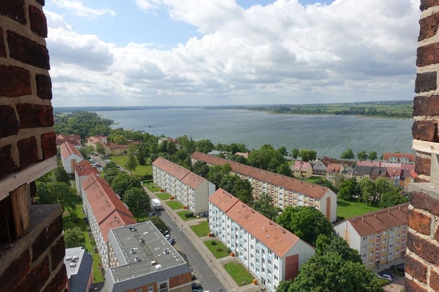 Pranzlau Blick über die Stadt