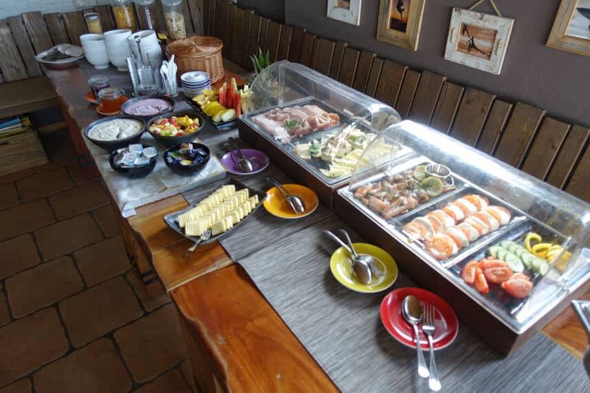 Frühstücksbuffet Cafe Knatter