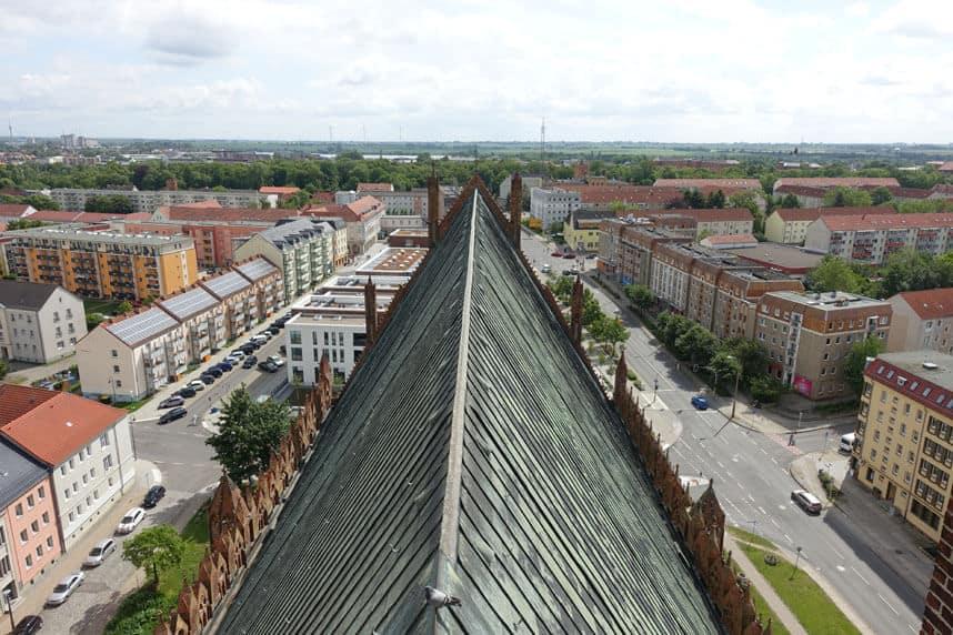 Dach Marienkirche