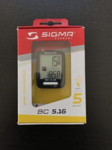 Sigma BC 5.16 Verpackung