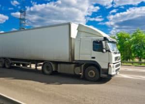LKW im Straßenverkehr