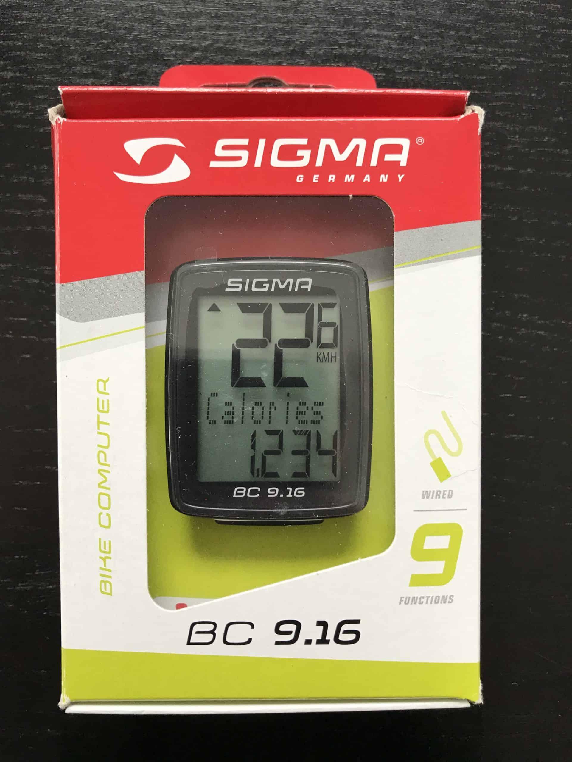 Sigma Sport 9.16